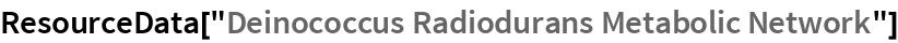 """ResourceData[""""Deinococcus Radiodurans Metabolic Network""""]"""