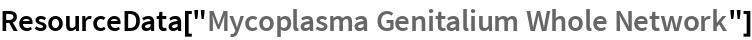 "ResourceData[""Mycoplasma Genitalium Whole Network""]"
