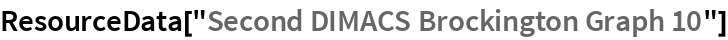 "ResourceData[""Second DIMACS Brockington Graph 10""]"