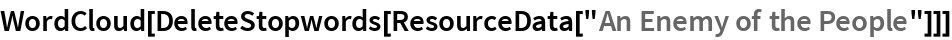 """WordCloud[DeleteStopwords[ResourceData[""""An Enemy of the People""""]]]"""