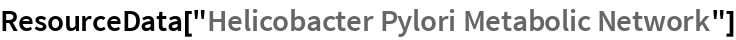 "ResourceData[""Helicobacter Pylori Metabolic Network""]"