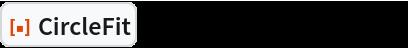 """ResourceFunction[""""CircleFit""""][{{1, 1}, {2, 2}, {3, 3}}]"""