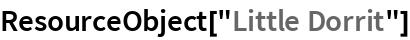 "ResourceObject[""Little Dorrit""]"