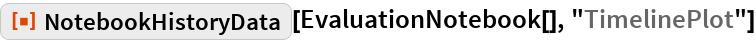 """ResourceFunction[""""NotebookHistoryData""""][  EvaluationNotebook[], """"TimelinePlot""""]"""