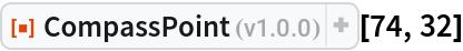 "ResourceFunction[""CompassPoint""][74, 32]"