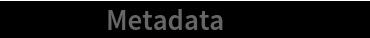 "txData[""Metadata""] // Dataset"