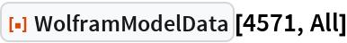 """ResourceFunction[""""WolframModelData""""][4571, All]"""