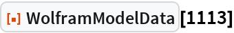 """ResourceFunction[""""WolframModelData""""][1113]"""