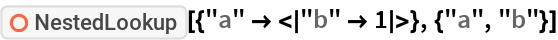 """ResourceFunction[""""NestedLookup""""][{""""a"""" -> <