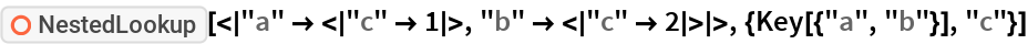 """ResourceFunction[  """"NestedLookup""""][<