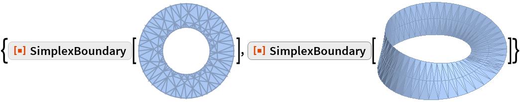 "{ResourceFunction[""SimplexBoundary""][\!\(\* GraphicsBox[ TagBox[ DynamicModuleBox[{Typeset`mesh = {        MeshRegion, {Method -> {""PropagateMarkers"" -> False}}}},  TagBox[GraphicsComplexBox[CompressedData["" 1:eJxVVH1M1HUYP0loWtZc+dJgAhnnelsM+qfJekJBDTVfpkbFQbUoXxCSlQ0J KePo4MzE1dqIGLqFAVnKiyy6fFBepvHS8XLOBkRB56Lj/YB1cN2V9/08t/3Y 2Hf3/T3f5/l8Ps/necJfz9idGqDT6b78///O2bY+983SstvUqU5O+C3w3abF I9QzZh4qcw5z/MvLXjKsdlBhR/jD+4P+oCNJbRWW3lG6WnVke2NzH6U88MbJ nPYJei3jyejaCgsdGEkMLImaoBPxAcOns9vJXXHg54S1Ns4ngzXh6XH6QN2z xG1FvS5Vj1KRR/LmIY/E3530YLS+vChG5/ub9OOKA85rwCU4u5FX6jSq7yzf jT5cHgqovIPTzm/77t3U4otzcDt06YBO0IclL3ixzvfeRur9KDcBB3jxNtQH D84HL/DkRMWbwYsVz7Mx0J8LFE/BzQweyMtW1JH8x6Gz6LTE2jIeZfrCYkYe 6MXNyCO404FDcC0tLN32TFalRXDNq376eV8Bz0y8L9D2l9/X9o+N8IHS28b7 0Vcz3gEH9O8TXiQ8xZfSB+mLnPnop8eH0w4fuOFXB/T2wq+Cywu/9gsvvLeR 4q17Tul33qLqzJGcygdO+MvlP7twr/q3AJ9OkVerH37b/bjzgENwXQNu4SF5 4pBX+WKKpQ7qwhcu+N3B8t6geLPooOaxn6We+E54p0IniTdo/UHiS9kTat7t LHzEZ2bNnC7g9xTmxY15cWC+XCy6qvmbY9FbfHkQewJ1eAF1wQP+7xeeiG+X fjYqnpdiJD5f038P5tnu9/kC9hh0xPw5/PkToavsUdkbncAvPHrQH+GZru0H 5sffD16EOcHcSJ9Z+o4+Y06coiuLzs3AKTrv0e5X5Lcjvwff/f3G/Pr9iH3Q YBEdTeir7CkT+io4gYsE5xX0ORN45rX+543w0Un4aiN8fRK8oBuJjm3whegs vszU+NSL3+3YN17sm34uf/bc2ufDnBxWv7n20Ufs/OpVT153cQ2XLLN+nt81 y7FLJzI+SRhhfcErpz7qnvLfJ6k4+vGgudywdZJXrdi0xxg6RhsWPxVyYUsH Hzrc2rvFPEt2Z8jeyz/8TvpvNwxmR84w4ilExfPHzevf+d47Q72bvfG2qFv8 N+IjVDz9hHjJb0K8VcXTd03VyQM9U9zVuav0m4IB3nfsbGOoZ5zLbgQNGaod 7E4rdtftuETelMuta+KcvM5xPLmm7wavPDX26eogJ8c+NHh+SdUQ70qsiT0x PMkSpzvse+ePi1DvKPfMryHHIqd50+DOoyuD/6R7M40rkupHuDf4Qtr11lE6 FFq3KMA6yCnG3OkXo50UiDzISxezjDv0yTYqiRz4padwmknVp92of4/KRzdV PkY9SlD1eLi4tmqWZ6jwqGvVXV9Xc602H4EPgQ/NN0waT2dN0Gc5MV9F7L1N 92nzE/hROPhBT7qp9KT0nOVh6yr/4bCGEsf2tH7W45R7OR9T99Q6e+uJvtox Tl4+ty9wYoZMOz9M/zeonkznshPLylyUnB1eVBfVRXMFa94KfcHFLSqeUlQ8 X3xcX3P/e3MUXOQo8fb+Rdfx3YB8/wEFNBJf ""],  {Hue[0.6, 0.3, 0.95], EdgeForm[Hue[0.6, 0.3, 0.75]],  TagBox[PolygonBox[CompressedData["" 1:eJwNw4V2qgAAANBNF67LpesO152uu7vDdTrEQgURKQUsQOp/3ne93XNuk9V2 aNWlpaX9+6"
