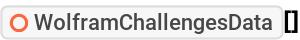 """ResourceFunction[""""WolframChallengesData""""][]"""