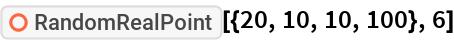 "ResourceFunction[""RandomRealPoint""][{20, 10, 10, 100}, 6]"