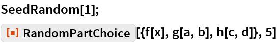 """SeedRandom[1]; ResourceFunction[  """"606d4f46-9ed8-442a-9149-2decde5643d3""""][{f[x], g[a, b], h[c, d]}, 5]"""