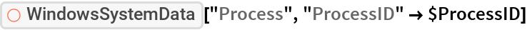"ResourceFunction[""WindowsSystemData""][""Process"", ""ProcessID"" -> $ProcessID]"